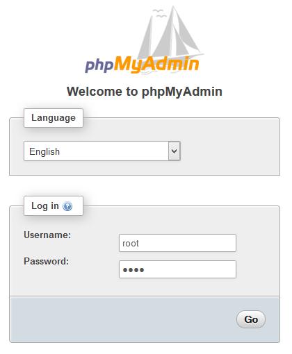 Cấu hình phpMyAdmin có form đăng nhập