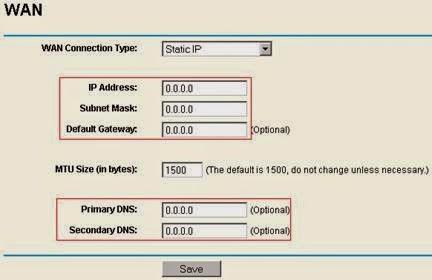 Static IP-: Đại chỉ IP tĩnh