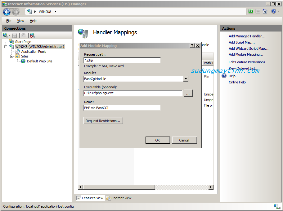 Add Module Mapping