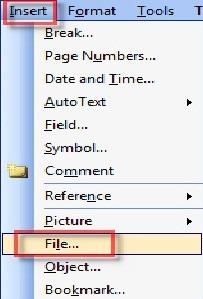 Hướng dẫn cách gộp văn bản trong Word