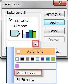 Cách thay đổi màu nền trong PowerPoint