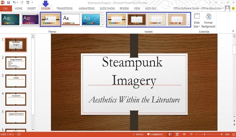 Trình bày slide powerpoint đẹp