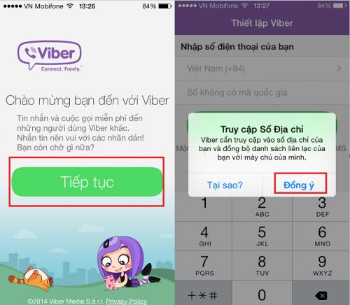 Lỗi cài đặt Viber 2