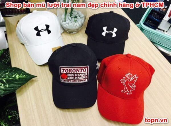 Shop bán mũ lưỡi trai nam đẹp chính hãng ở TPHCM