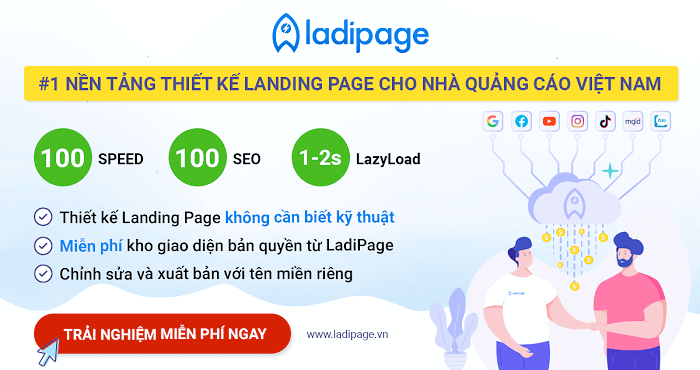 thiết kế ladipage