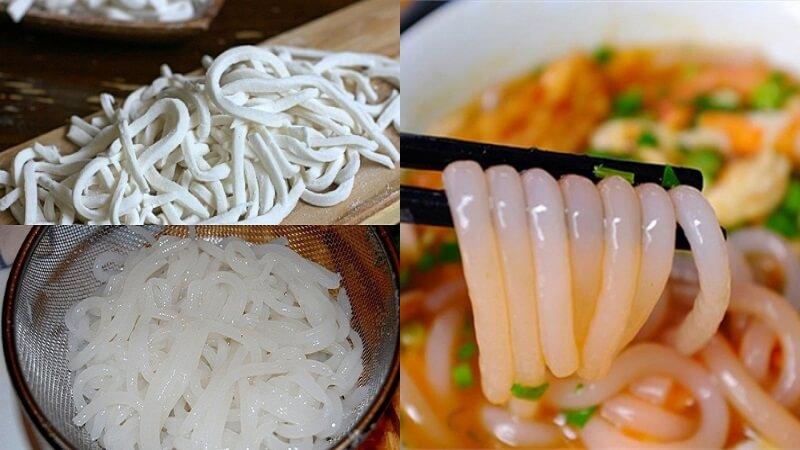 Cách làm bánh canh bột gạo