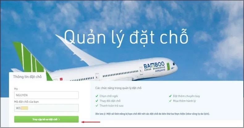 Cách tra cứu online tình trạng chuyến bay