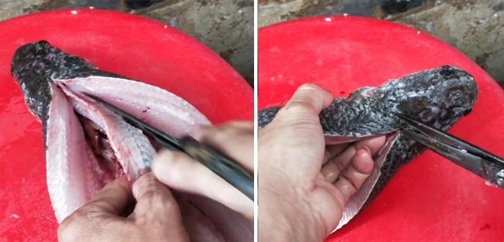 Cách làm khô cá lóc