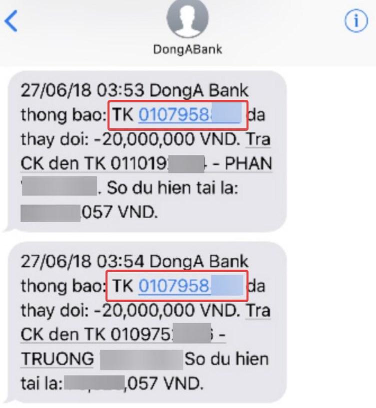Số tài khoản ngân hàng là gì?