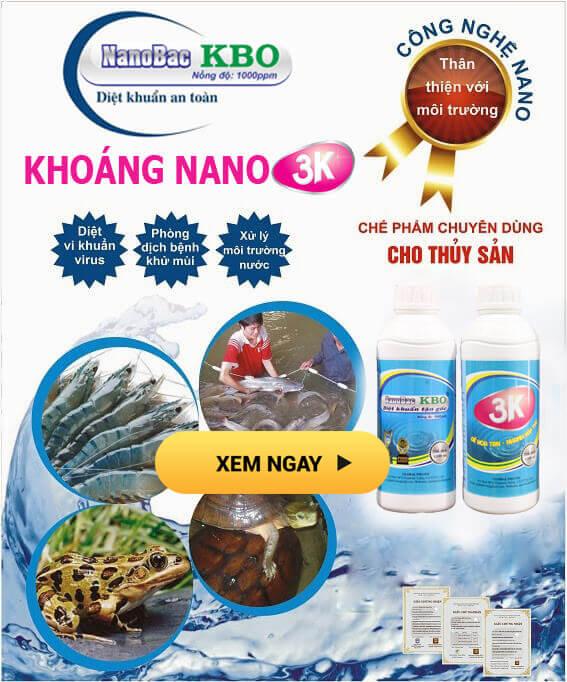 nano bạc KBO - Khoáng nano 3K