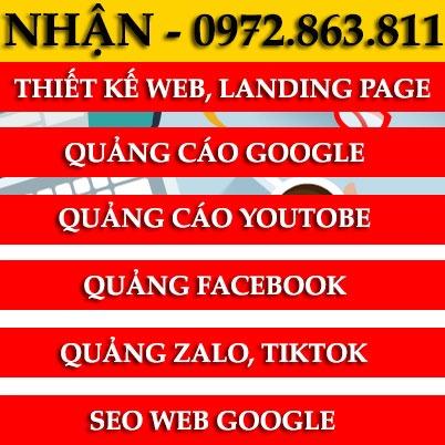 dịch vụ digital marketing thiết kế web seo google chạy quảng cáo online