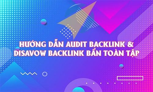 Hướng dẫn Audit backlink & Disavow backlink bẩn