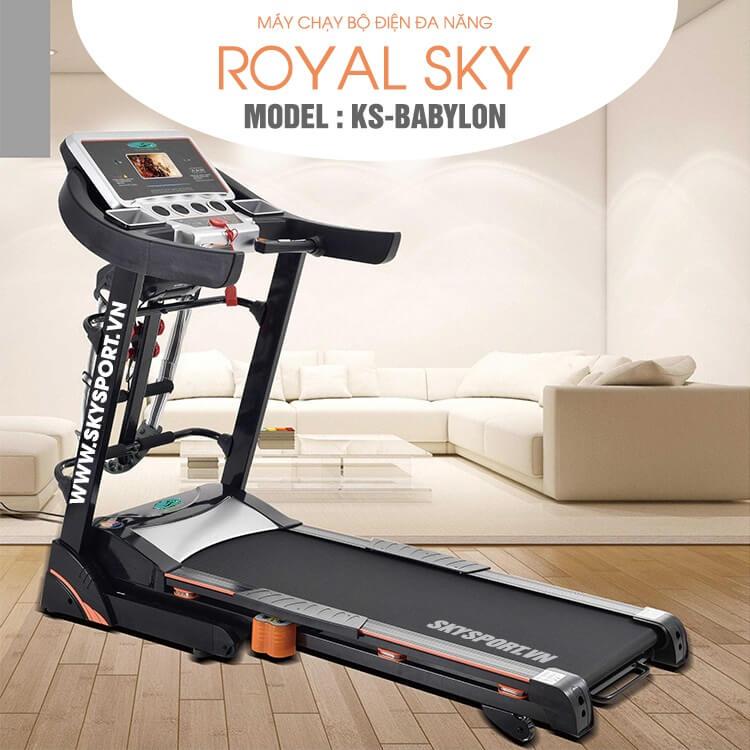 Máy chạy bộ điện chính hãng giá rẻ Skysport