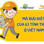 Mã bưu chính 63 tỉnh thành việt nam